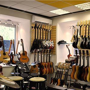 Музыкальные магазины Выселок